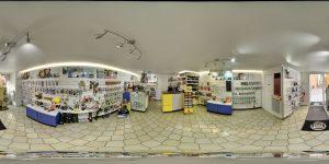 intérieur de la boutique 1001 piles lumistar à gap